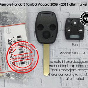 Honda remote 3 tombol Accord 2008 - 2011