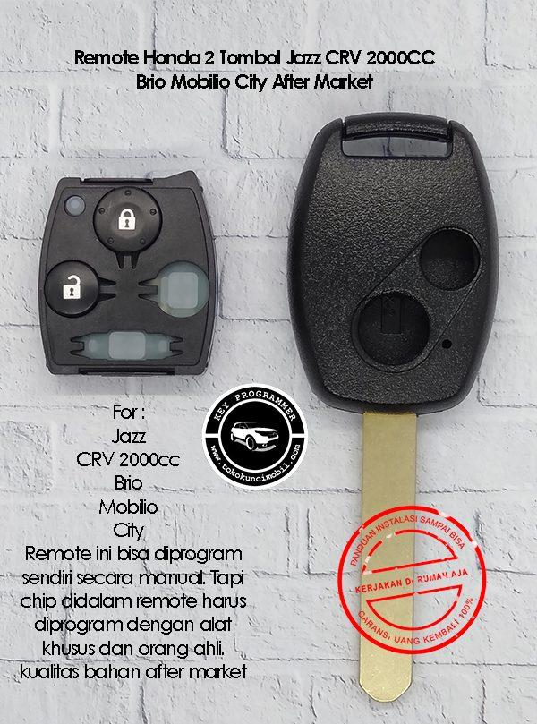 Honda remote 2 tombol jazz crv mobilo brio kualitas after market