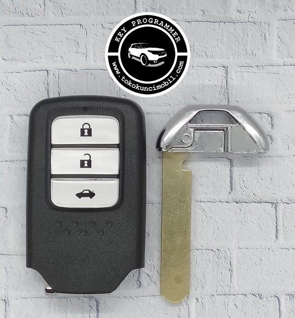 Honda smart key 3 tombol Accord after market