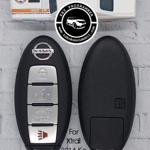 smart key all new x trail 4 tombol